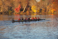 Princeton University Rowing team Royalty Free Stock Photos