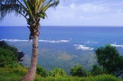 Princeville cliff view Stock Photos