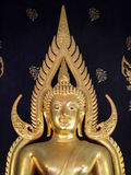 Principal Buddha of Wat Buddha Bucha Stock Photos
