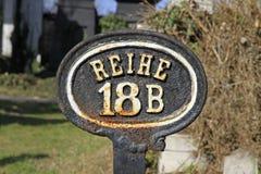 Principal-cimetière de Vienne Photographie stock libre de droits
