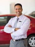Principal de concessionnaire automobile Photos libres de droits
