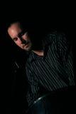 Principal de Viktor (carter en acier) au festival de jazz de l'Ombrie Image stock