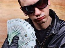 Principal gángster de la mafia Imágenes de archivo libres de regalías