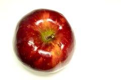 Principal manzana roja en blanco Foto de archivo libre de regalías