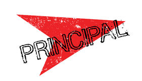 Principal rubber stamp Royalty Free Stock Photography