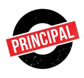 Principal rubber stamp Royalty Free Stock Image