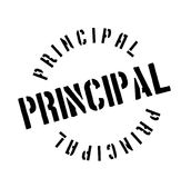 Principal rubber stamp Royalty Free Stock Images