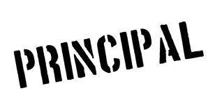 Principal rubber stamp Stock Images