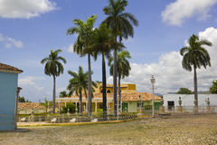 Principal square of Triinidad. Cuba. Royalty Free Stock Photography