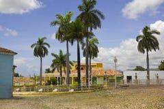 Principal square of Triinidad. Cuba. royalty free stock photography