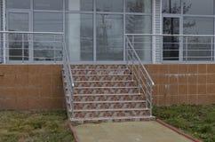 Principal staircase of house Stock Photography