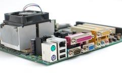 Principal-tarjeta del ordenador Imagen de archivo