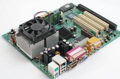 Principal-tarjeta del ordenador Fotografía de archivo