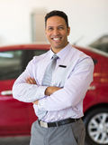 Principale del commerciante di automobile Fotografie Stock Libere da Diritti
