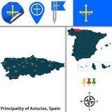Principality of Asturias, Spain Royalty Free Stock Images