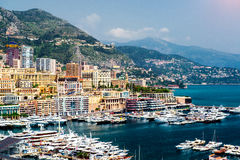 Principality of Monaco Royalty Free Stock Photo