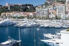 The Principality of Monaco Royalty Free Stock Photography