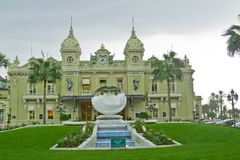 Principality Monako.Monte Carlo. Stock Photography