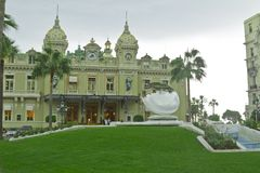 Principality Monako.Monte Carlo. Royalty Free Stock Photos