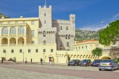 Principality Monako.Monte Carlo. Royalty Free Stock Photo