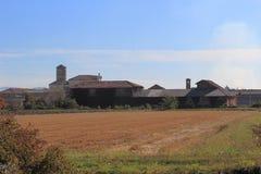 Principato di Lucedio, Vercelli, Itália Imagens de Stock