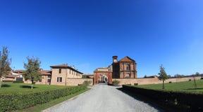 Principato di Lucedio, Vercelli, Italia Fotografie Stock