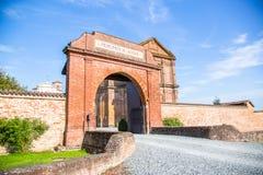 Principato di Lucedio, Vercelli, Italia Fotografia Stock