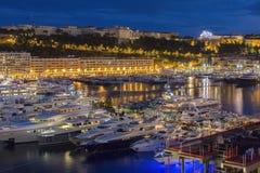 Principauté du Monaco - la Côte d'Azur image libre de droits