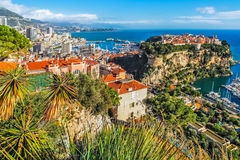 Principaute Монако и Монте-Карло Стоковые Изображения RF