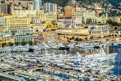 Principaute of monaco and monte carlo Stock Photography