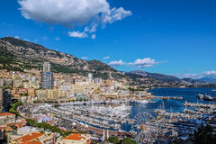 Principaute of monaco and monte carlo Royalty Free Stock Photos