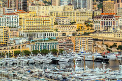 Principaute of monaco and monte carlo Stock Image