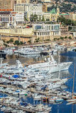 Principaute of monaco and monte carlo Royalty Free Stock Image