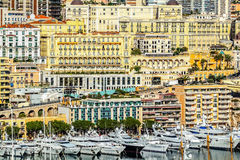 Principaute of monaco and monte carlo Royalty Free Stock Photo