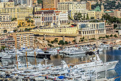 Principaute of monaco and monte carlo Stock Photos