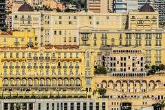 Principaute van Monaco en Monte Carlo Stock Foto's