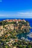 Principaute von Monaco und von Monte Carlo stockbilder