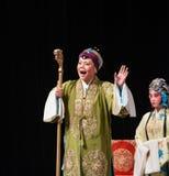 """Principaux généraux de femmes de Pékin Opera"""" de béquille de main de  de € de Yang Familyâ Images stock"""