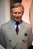Principe Charles alla l$signora Tussaud Fotografie Stock Libere da Diritti