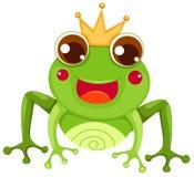 Principe della rana illustrazione di stock