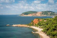 Principe Islands vicino a Costantinopoli in Turchia Fotografia Stock Libera da Diritti
