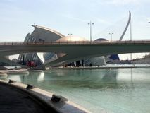 Principe Philip Science Museum, Valencia Fotografia Stock