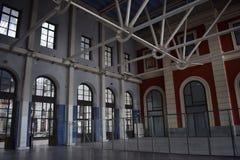 Principe Pio Station former Estación del Norte, Madrid stock photography