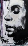 Principe San Francisco Alleyway Art Fotografia Stock