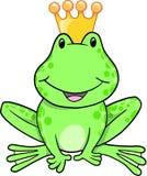 Principe Vector della rana Immagine Stock