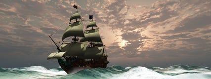 Principe William Ship royalty illustrazione gratis