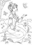 Principessa illustrazione di stock