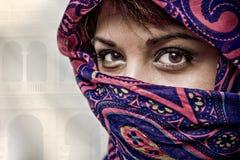 Principessa araba Fotografie Stock Libere da Diritti