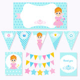 Principessa Birthday Illustrazione di Stock