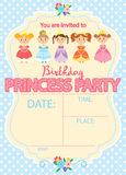 Principessa Birthday Party Fotografie Stock